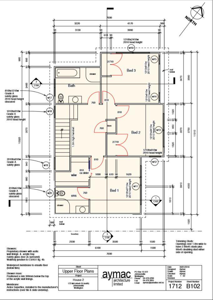 Top floor- house 2 lot 43